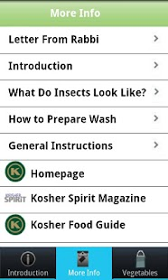 Download ok vegetable checking guide 1 1 apk for android for Kosher cleaning requirements