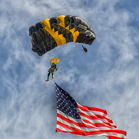 Old Glory by VJ Thomas - Sports & Fitness Other Sports ( airshow )