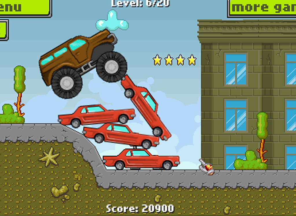 Army Monster Truck Race - screenshot