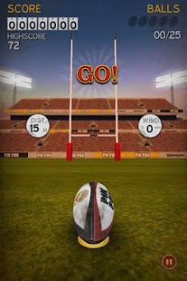 Flick Kick Rugby - screenshot thumbnail