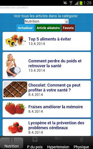 Santé Articles - sante365.fr