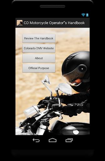 Colorado Motorcycle Handbook