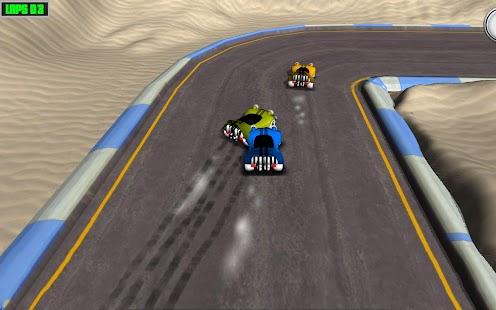 3D Cartoon Racing Free