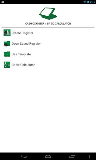 RegCount - Cash Counter