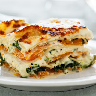 Squash and Broccoli Rabe Lasagna