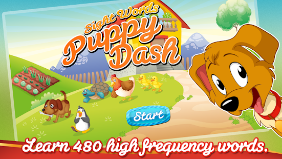 Sight Words Puppy Dash- screenshot thumbnail