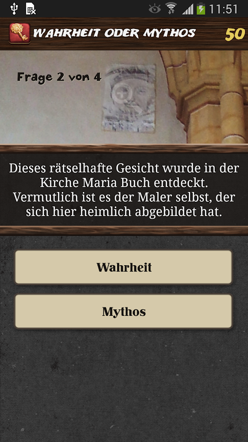 Die goldene Kathedrale – Screenshot