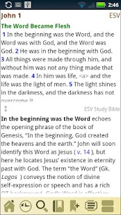 ESV Study Bible - screenshot thumbnail