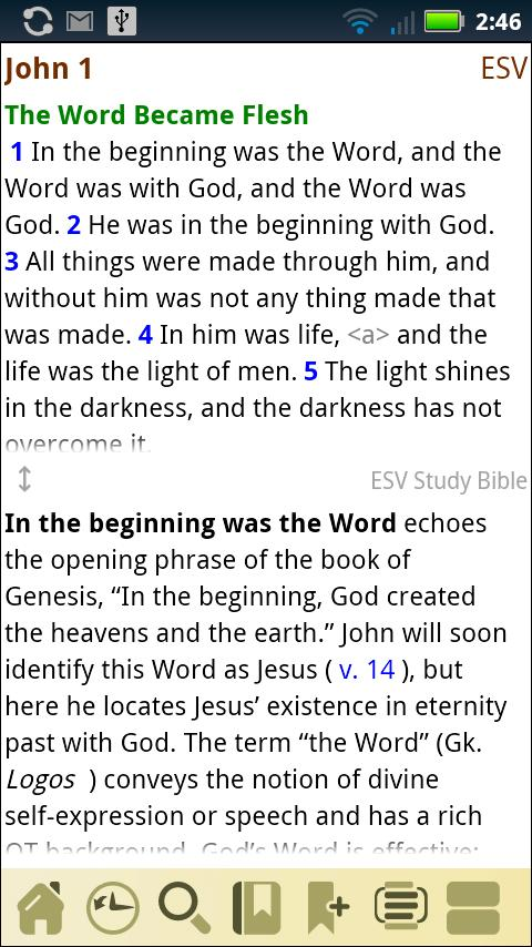 ESV Study Bible - screenshot