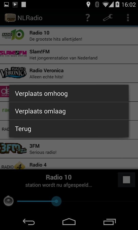 NLRadio- screenshot