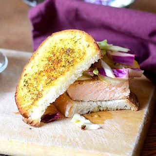 Salmon Pesto Sandwich