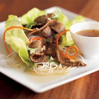 Vietnamese Beef Salad.