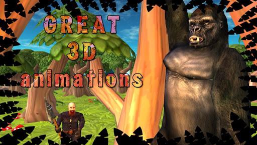 고릴라 시뮬레이터 3D
