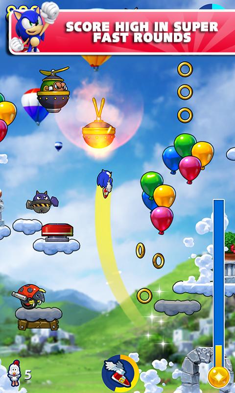 Sonic Jump Fever screenshot #3