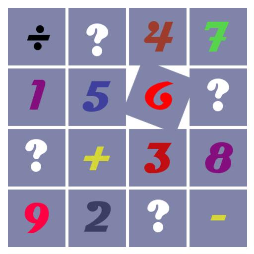 数学配对游戏 (记忆游戏) 益智 App LOGO-硬是要APP