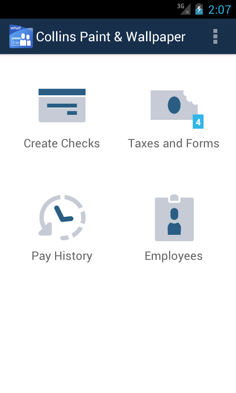 Online Payroll- screenshot