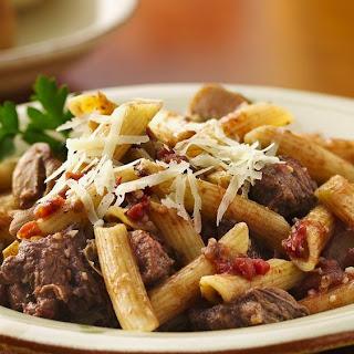 Slow-Cooker Mediterranean Beef and Pasta.