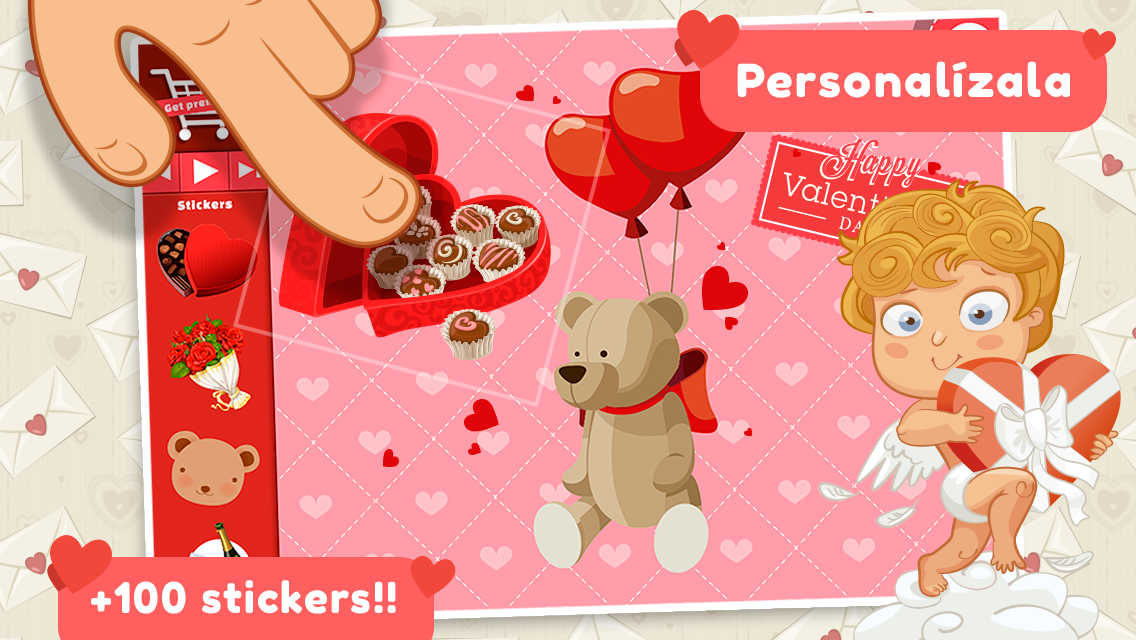 Love cards- screenshot