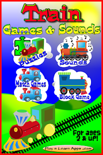 Train Toddler Games Sounds