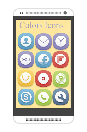 Colors Icons Apex Nova GO ADW