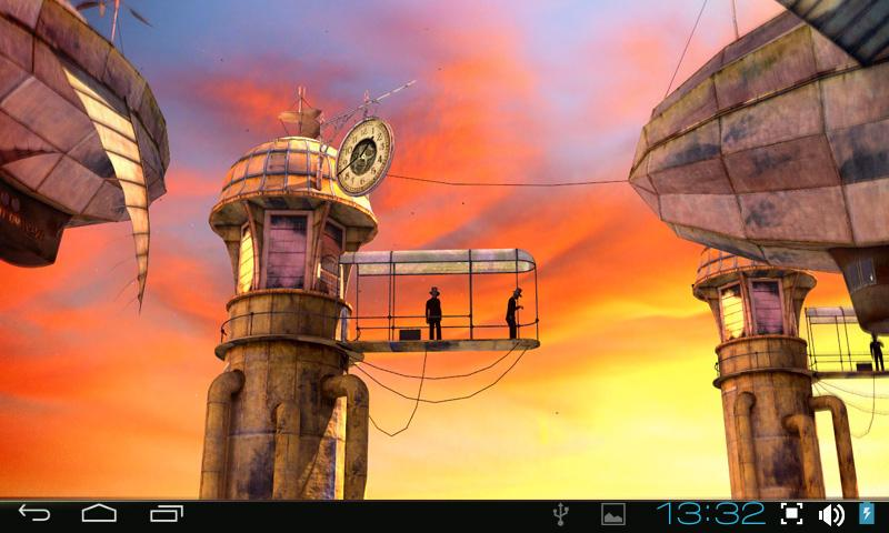 3D Steampunk Travel Pro lwp- screenshot