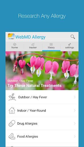 【免費健康App】WebMD Allergy-APP點子