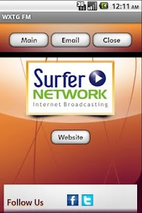 WXTG FM - screenshot thumbnail