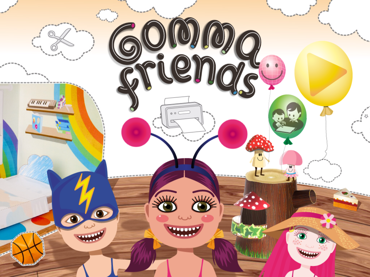 Gomma Friends Lite- screenshot