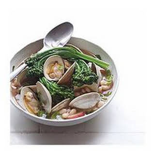 Clam Soup with Potatoes and Beans.