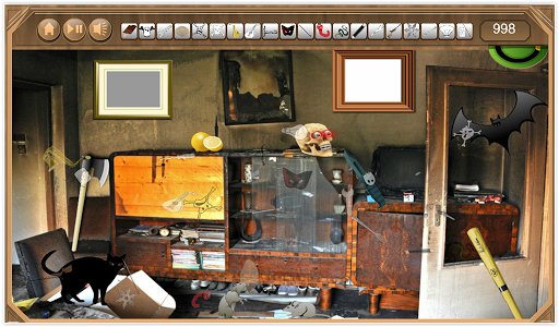 Haunted Rooms Hidden Object