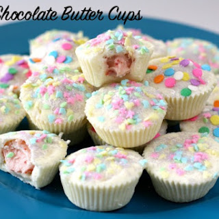 WHITE CHOCOLATE BUTTER CUPS