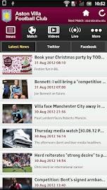 Aston Villa Screenshot 1