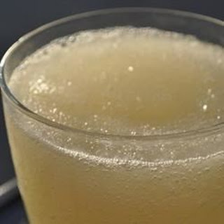 Lemon Whiskey Slush.