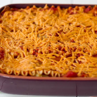 Vegan Lasagna with Basil Cashew Cheeze.