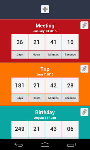 Countdowns For Events