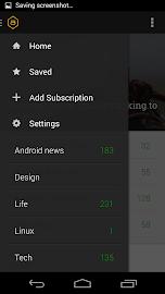 Amber RSS Reader Screenshot 5