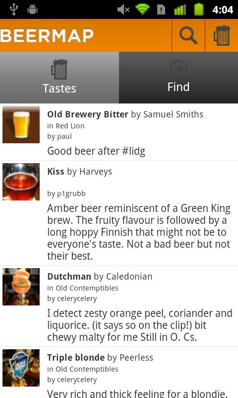 BeerMap.co: Taste, Rate, Share- screenshot