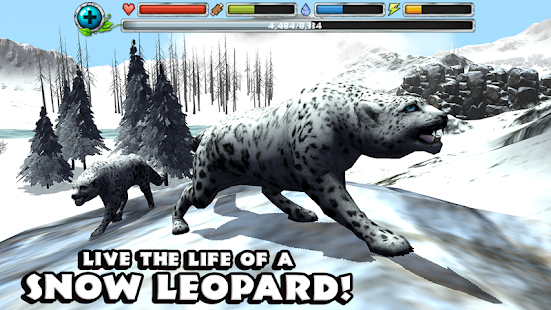 Snow Leopard Simulator- screenshot thumbnail