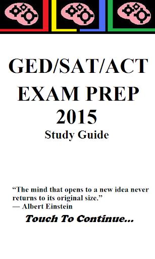 美國 GED SAT ACT 入學考模擬試題 2015
