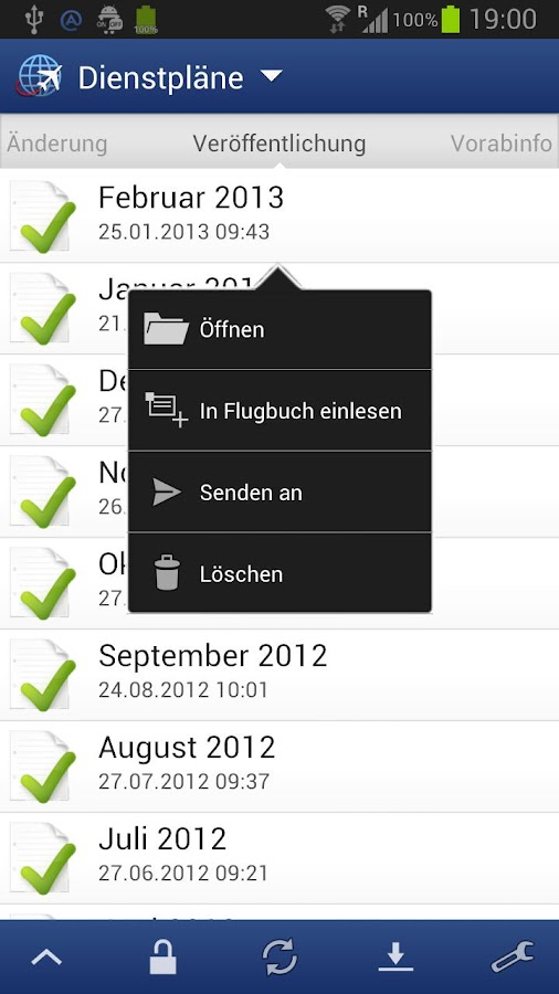 Flitebook- screenshot