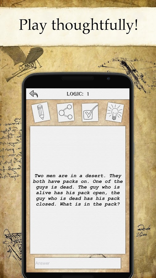 Da Vinci Riddles: Mystery- screenshot
