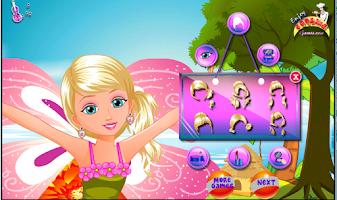 Screenshot of cute thumbelina girl