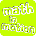 Math in Motion for kids logo