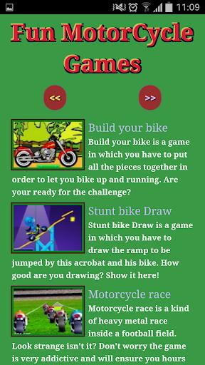 Fun Motorcycle Games