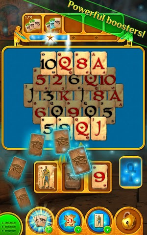 Screenshot 2 Pyramid Solitaire Saga