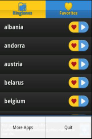 European Anthems