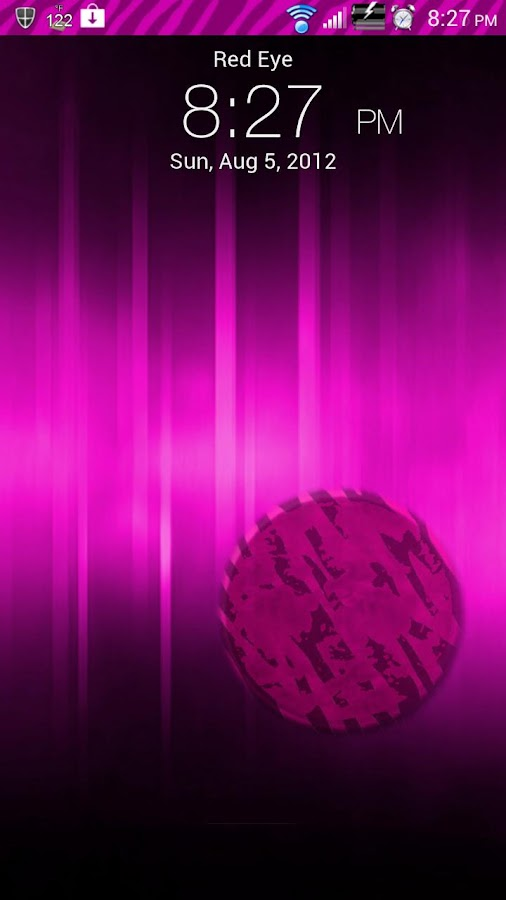 Pink Zebra Sense 3.6 Skin- screenshot