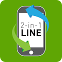 2-in-1 LINE icon