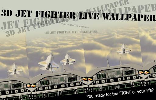 3D Jet Fighter Live Wallpaper