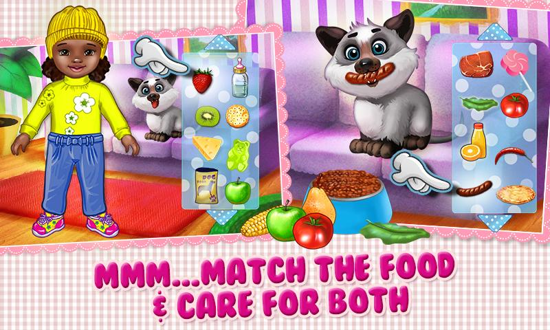 Baby & Puppy - Care & Dress Up - screenshot